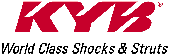 KYB World Class Shocks and Struts